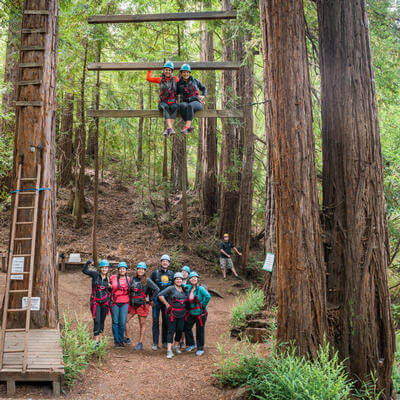 Team Building at Chaminade Resort & Spa in Santa Cruz, CA