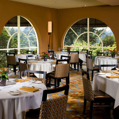 sunset restaurant at chaminade resort