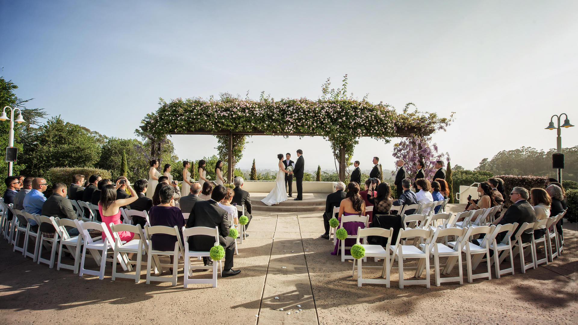 Outdoor Wedding at Chaminade Resort & Spa in Santa Cruz, CA