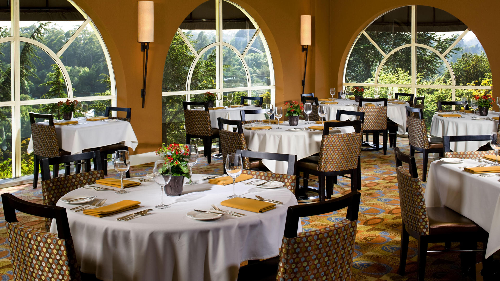 Sunset Restaurant at Chaminade Resort & Spa in Santa Cruz, CA