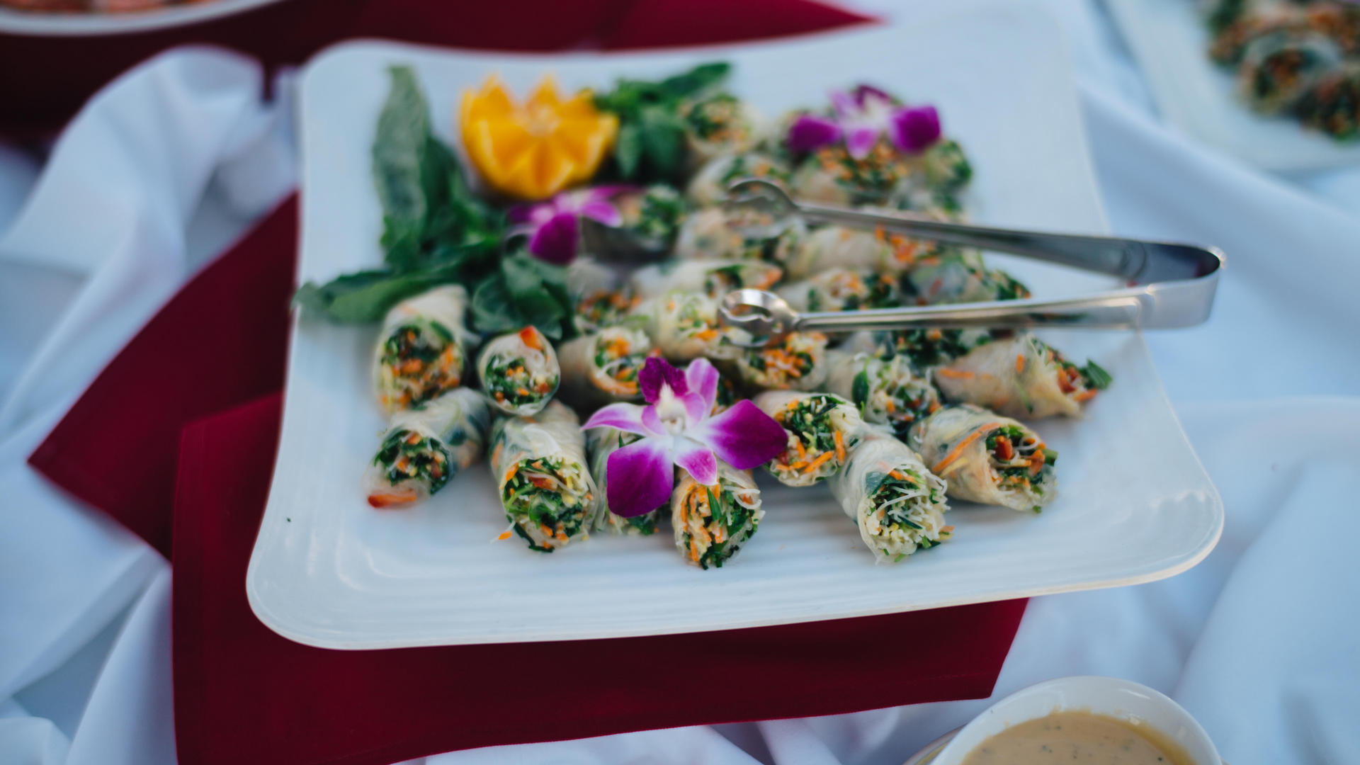 Wedding Menus at Chaminade Resort & Spa in Santa Cruz, CA