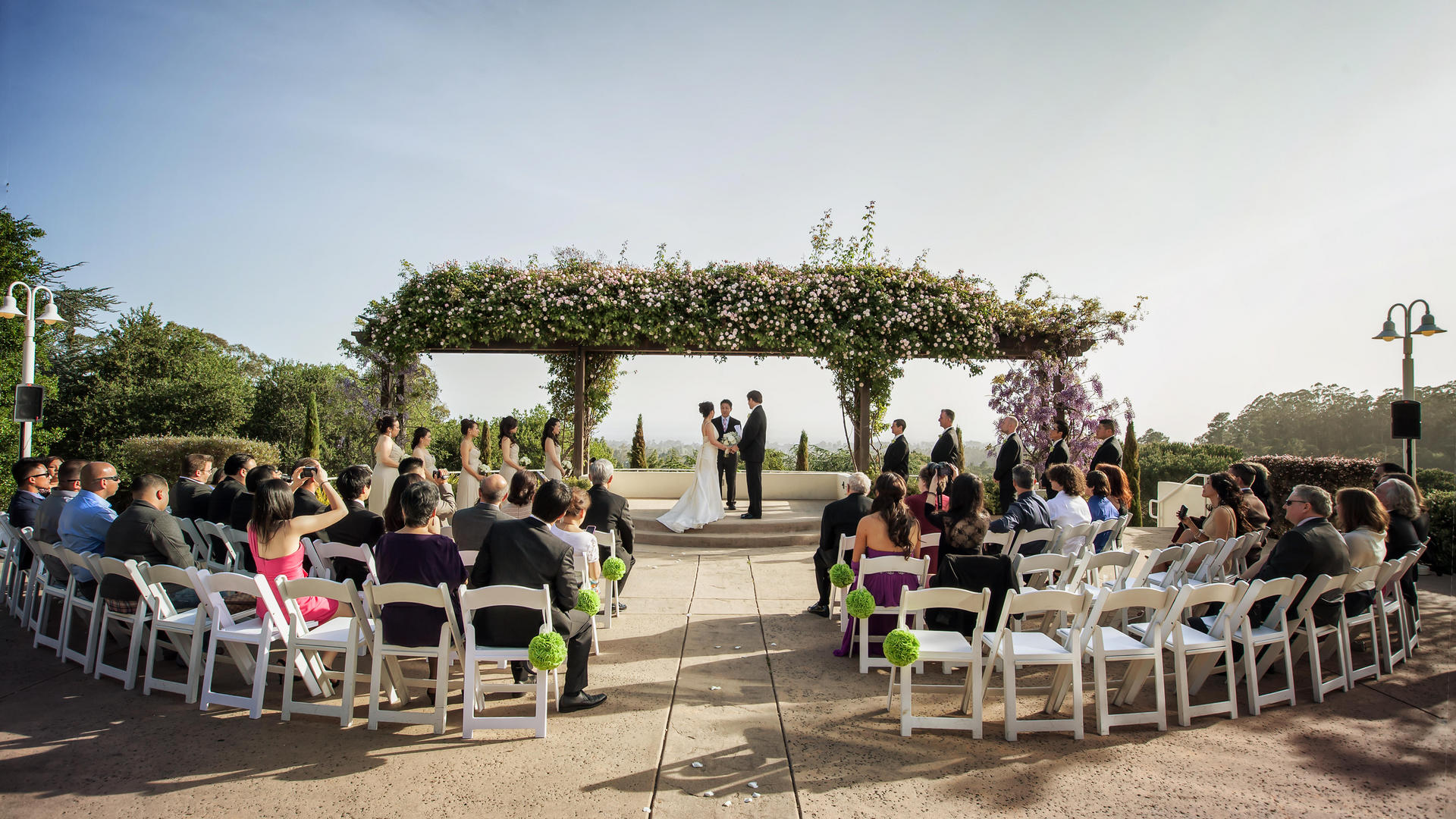 Outdoor Wedding At Chaminade Resort Spa In Santa Cruz