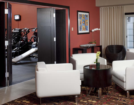 Gathering Room and Fitness Center at Chaminade Resort & Spa