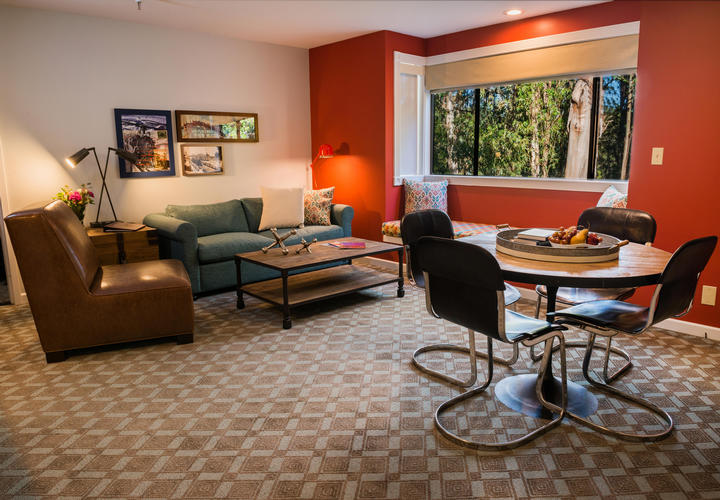 Spacious Suite at Chaminade Resort & Spa in Santa Cruz, CA