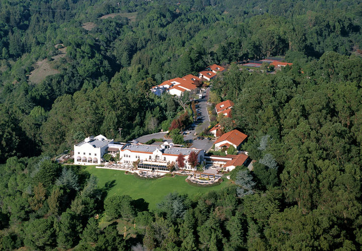 Aerial View of Chaminade Resort & Spa