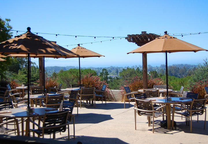 Outdoor Dining at Chaminade Resort & Spa in Santa Cruz, CA
