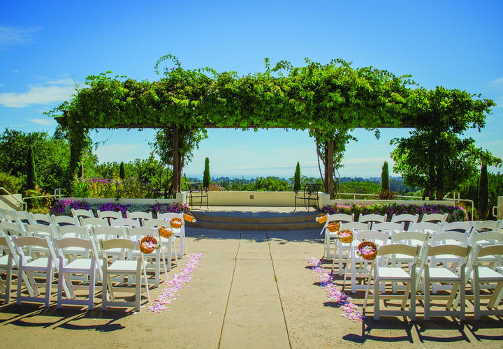 Outdoor Wedding at Chaminade Resort & Spa
