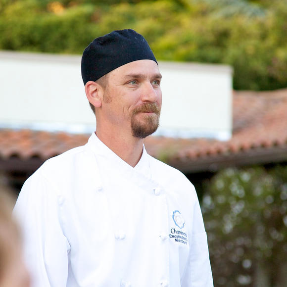 Chef Nicholas Church at Chaminade Resort & Spa in Santa Cruz, CA