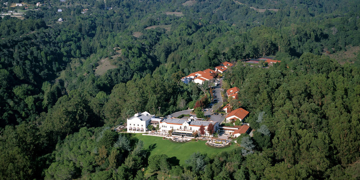 Aerial view of Chaminade Resort