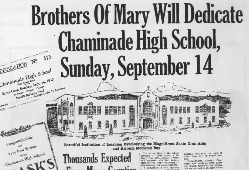 Historic newspaper clipping about Chaminade